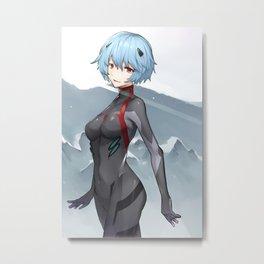 Rei Ayanami Metal Print