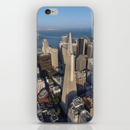 Aerial View of Downtown San Francisco iPhone Skin