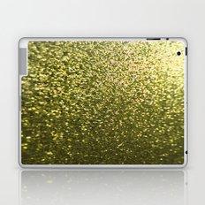 Gold Glitter Sparkle Laptop & iPad Skin
