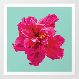 Hibiscus (Part of a Triptych) Art Print