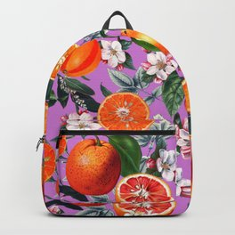Vintage Fruit Pattern X Backpack