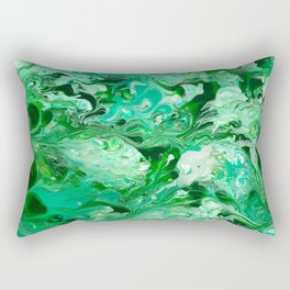 Emerald River Rectangular Pillow