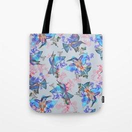 bee eaters pattern Tote Bag