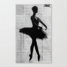 en-pointe Canvas Print
