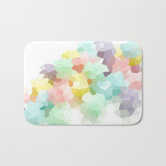 Pastel Abstract Bath Mat
