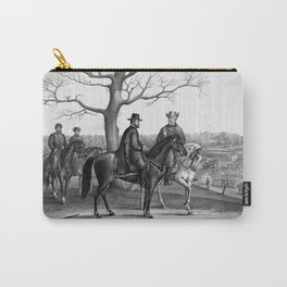Grant And Lee At Appomattox Carry-All Pouch