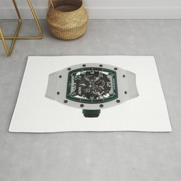 Richard Mille RM030 Le Mans White ATZ Ceramic Mens 50MM Watch  Rug