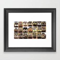 Safari Collection Framed Art Print