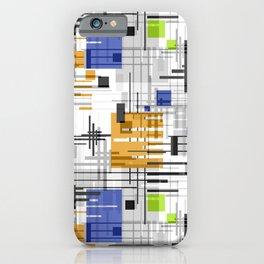 retro, abstract pattern, geometric pattern, 3 iPhone Case