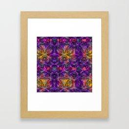 Grape & Orange Soda Framed Art Print
