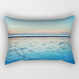 Sunset on the Horizon I Rectangular Pillow