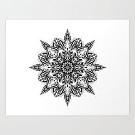 Manadala 3 Art Print