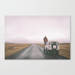 Road trip to nowhere Canvas Print