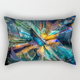 Deep City Rectangular Pillow