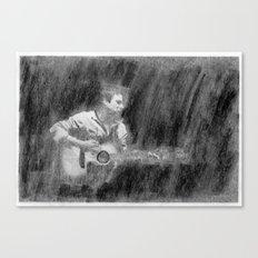 Joe Pug. Canvas Print