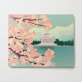 Spring in Washington DC Metal Print