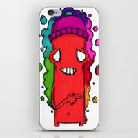 the fault iPhone & iPod Skins featuring Fault by YahYahBoozy