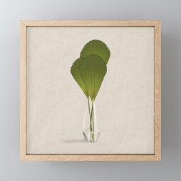 Ruffled Fan Palm Framed Mini Art Print