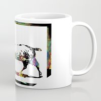 goat Mugs featuring Goat by LoRo  Art & Pictures