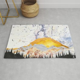 Wild Lullaby - Abstract Nature No1 Rug