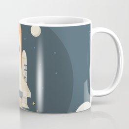 Spaceship Launch Coffee Mug