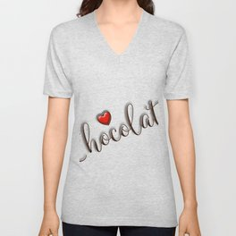 Love Chocolate Unisex V-Neck