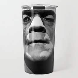 Frankenstein 1933 classic icon image, flawless, timeless horror movie classic Travel Mug
