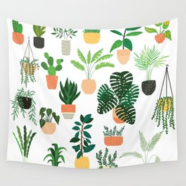 Houseplants 1 Wall Tapestry