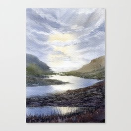Winding Canvas Print