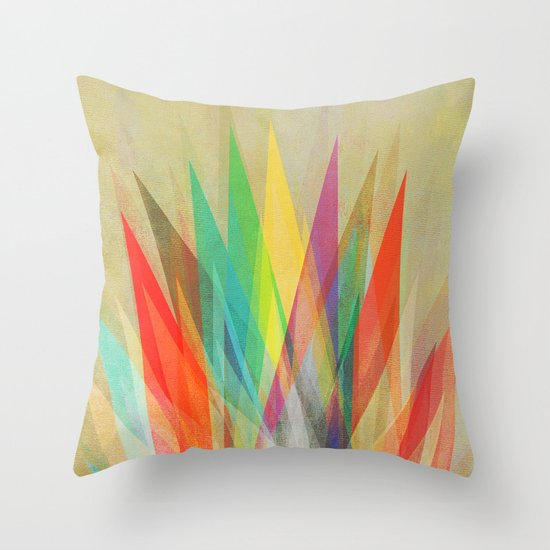 Graphic 15 Throw Pillow by Mareike Bohmer Society6