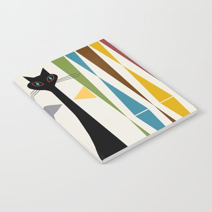 Mid-Century Modern Art Cat 2 Notebook