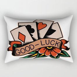Good-Luck Rectangular Pillow