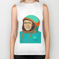 kevin russ Biker Tanks featuring Kevin Spacey by IvaDim
