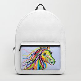 Horse of a Different Color Backpack