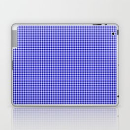 Blue Gingham Laptop & iPad Skin