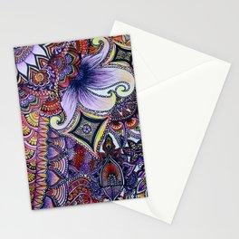 psychadelic sunrise Stationery Cards