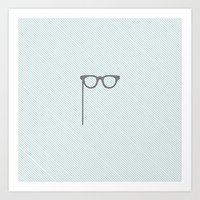 glasses Art Prints featuring Glasses by Mr & Mrs Quirynen
