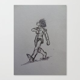"The ""Sgt. Peppah"" Strut Canvas Print"