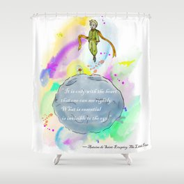 Little Prince World Shower Curtain