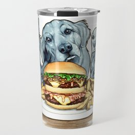 Burger Dogs Travel Mug