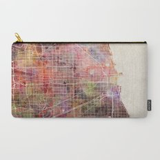 Chicago map Carry-All Pouch