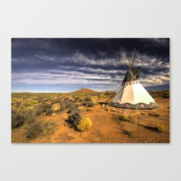 The WigWam  Canvas Print