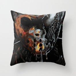 Venom Jason Throw Pillow
