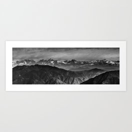 Himalayan Panorama Art Print