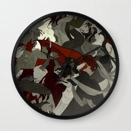 Hexennacht Wall Clock