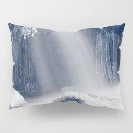 Stream of Blue Frozen Hope Pillow Sham