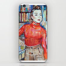 Russian Red, Singer, painting, illustration, art pop iPhone & iPod Skin