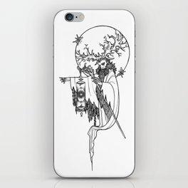 Major Arcana IX The Hermit iPhone Skin