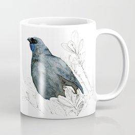Kōkako, New Zealand native bird Coffee Mug