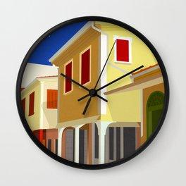 Lefkada (GR), The town's bazaar Wall Clock
